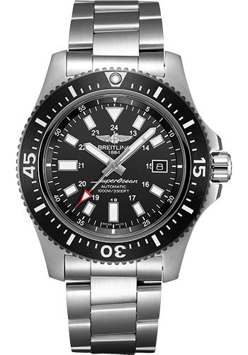 Breitling Watches - Superocean 44 Special Satin Steel - Bracelet - Style No: Y17393101B1A1