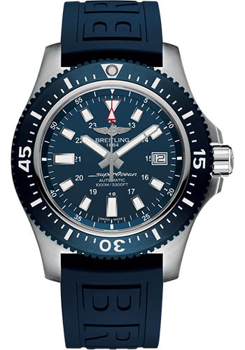 Breitling Watches - Superocean Automatic 44mm - Ocean Racer II Strap - Style No: Y1739316/C959/158S/A20SS.1