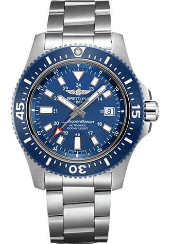 Breitling Watches - Superocean 44 Special Satin Steel - Bracelet - Style No: Y17393161C1A1