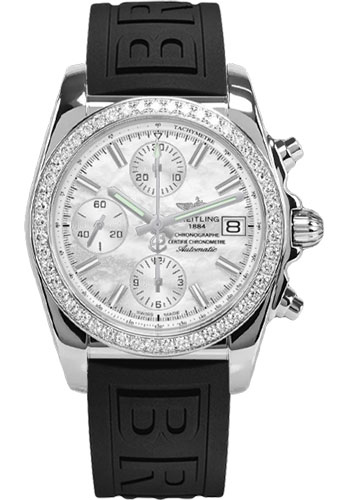 Breitling Watches - Chronomat 38 Diamond Bezel - Diver Pro III - Deployant - Style No: A1331053/A774-diver-pro-iii-black-pushbutton-folding