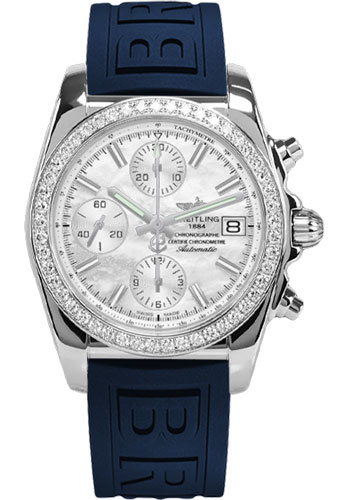Breitling Watches - Chronomat 38 Diamond Bezel - Diver Pro III - Tang - Style No: A1331053/A774-diver-pro-iii-blue-tang
