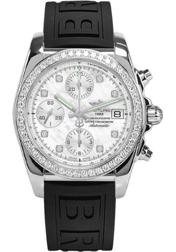 Breitling Watches - Chronomat 38 Diamond Bezel - Diver Pro III - Tang - Style No: A1331053/A776-diver-pro-iii-black-tang