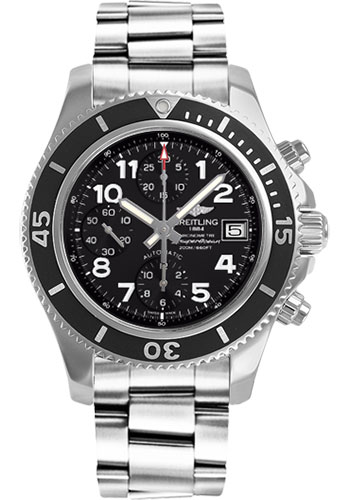 Breitling Watches - Superocean Chronograph 42 Steel Professional III Bracelet - Style No: A13311C9/BE93-professional-iii-steel