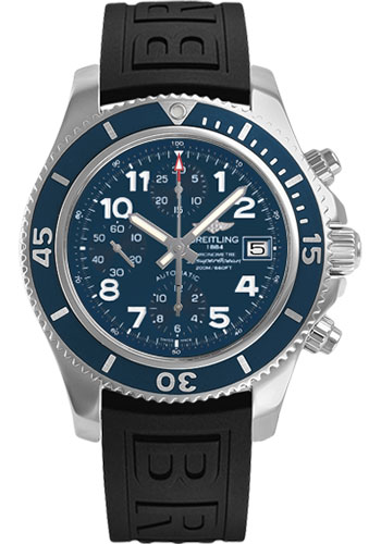 Breitling Watches - Superocean Chronograph 42 Diver Pro III Strap - Deployant - Style No: A13311D1/C936-diver-pro-iii-black-deployant