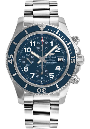 Breitling Watches - Superocean Chronograph 42 Steel Professional III Bracelet - Style No: A13311D1/C936-professional-iii-steel