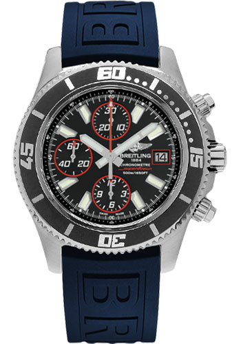 Breitling Watches - Superocean Chronograph II Abyss Red Satin - Style No: A1334102/BA81-diver-pro-iii-blue-folding