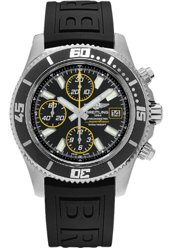 Breitling Watches - Superocean Chronograph II Abyss Yellow Satin - Style No: A1334102/BA82-diver-pro-iii-black-folding