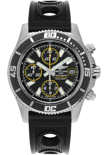 Breitling Watches - Superocean Chronograph II Abyss Yellow Satin - Style No: A1334102/BA82-ocean-racer-black-folding