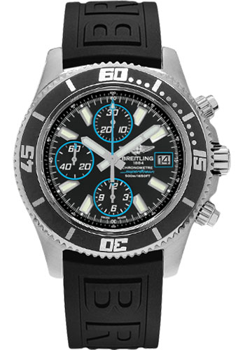 watches style ii deployant diver htm no special breitling superocean black from swissluxury pro