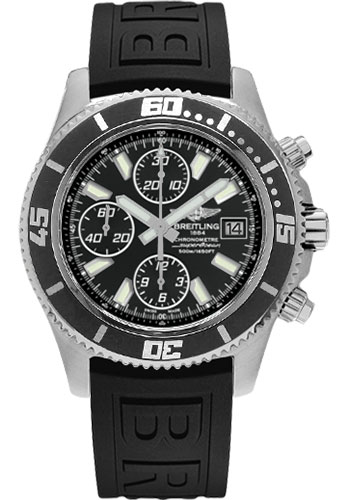 Breitling Watches - Superocean Chronograph II Abyss White Satin - Style No: A1334102/BA84-diver-pro-iii-black-folding