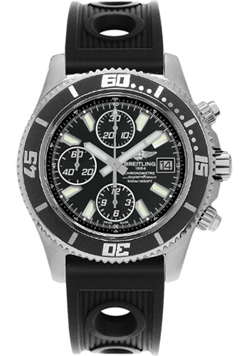 Breitling Watches - Superocean Chronograph II Abyss White Satin - Style No: A1334102/BA84-ocean-racer-black-folding