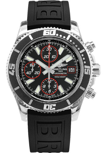 Breitling Watches - Superocean Chronograph II Abyss Red Polished - Style No: A13341A8/BA81-diver-pro-iii-black-folding