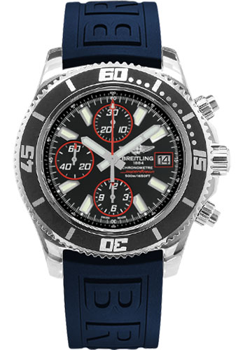 Breitling Watches - Superocean Chronograph II Abyss Red Polished - Style No: A13341A8/BA81-diver-pro-iii-blue-folding