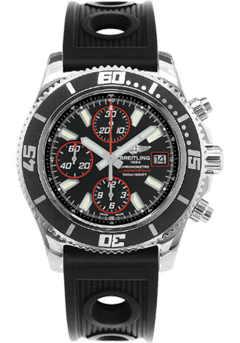 Breitling Watches - Superocean Chronograph II Abyss Red Polished - Style No: A13341A8/BA81-ocean-racer-black-folding