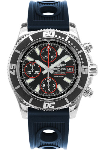 Breitling Watches - Superocean Chronograph II Abyss Red Polished - Style No: A13341A8/BA81-ocean-racer-blue-folding