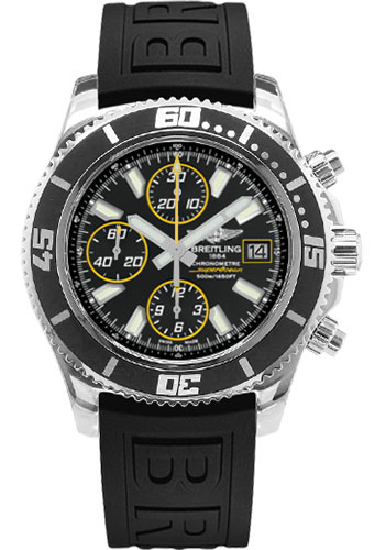 Breitling Watches - Superocean Chronograph II Abyss Yellow Polished - Style No: A13341A8/BA82-diver-pro-iii-black-folding