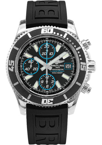 Breitling Watches - Superocean Chronograph II Abyss Blue Polished - Style No: A13341A8/BA83-diver-pro-iii-black-folding