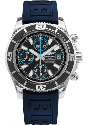 Breitling Watches - Superocean Chronograph II Abyss Blue Polished - Style No: A13341A8/BA83-diver-pro-iii-blue-folding