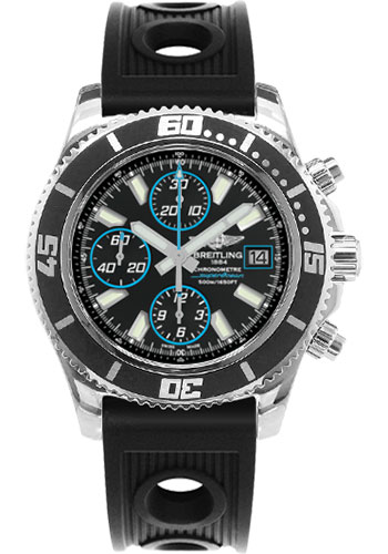 Breitling Watches - Superocean Chronograph II Abyss Blue Polished - Style No: A13341A8/BA83-ocean-racer-black-folding
