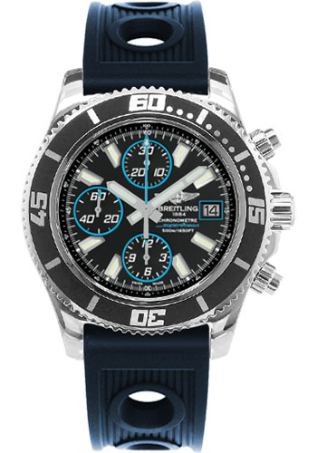 Breitling Watches - Superocean Chronograph II Abyss Blue Polished - Style No: A13341A8/BA83-ocean-racer-blue-folding
