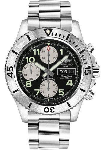 Breitling Watches - Superocean Chronograph Steelfish Professional III Bracelet - Style No: A13341C3/BD19-professional-iii-steel