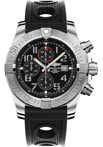Breitling Watches - Super Avenger II Ocean Racer Strap - Style No: A1337111/BC28-ocean-racer-black-deployant