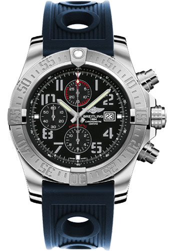 Breitling Watches - Super Avenger II Ocean Racer Strap - Style No: A1337111/BC28-ocean-racer-blue-deployant