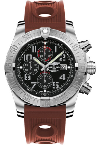 Breitling Watches - Super Avenger II Ocean Racer Strap - Style No: A1337111/BC28-ocean-racer-bronze-deployant