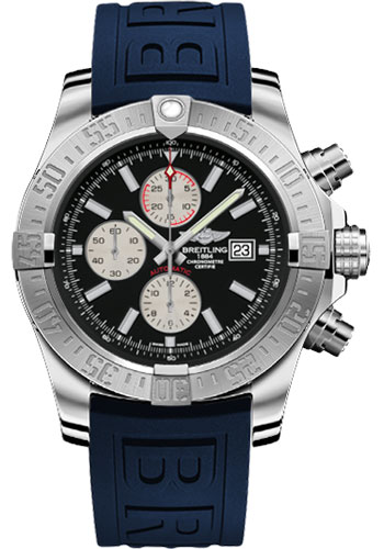 Breitling Watches - Super Avenger II Diver Pro III Strap - Tang Buckle - Style No: A1337111/BC29-diver-pro-iii-blue-tang