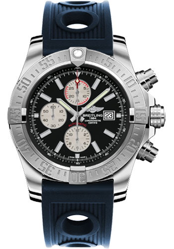 Breitling Watches - Super Avenger II Ocean Racer Strap - Style No: A1337111/BC29-ocean-racer-blue-deployant