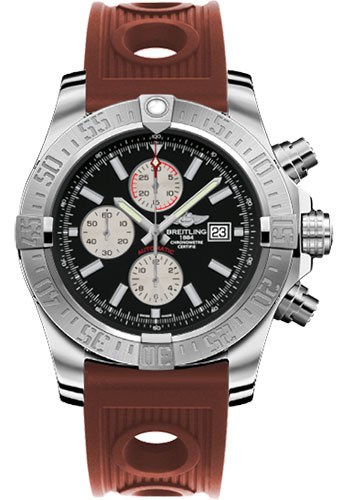 Breitling Watches - Super Avenger II Ocean Racer Strap - Style No: A1337111/BC29-ocean-racer-bronze-deployant
