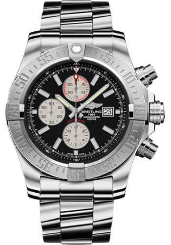 Breitling Watches - Super Avenger II Stainless Steel Bracelet - Style No: A1337111/BC29-professional-iii-steel