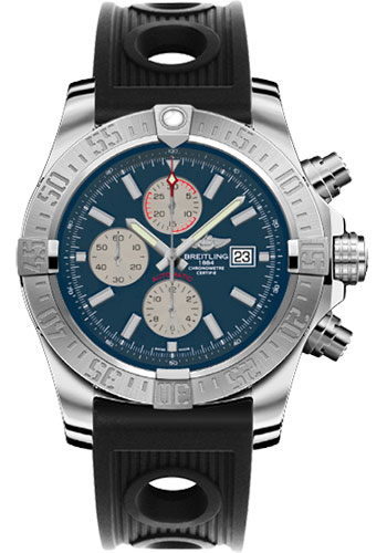 Breitling Watches - Super Avenger II Ocean Racer Strap - Style No: A1337111/C871-ocean-racer-black-deployant