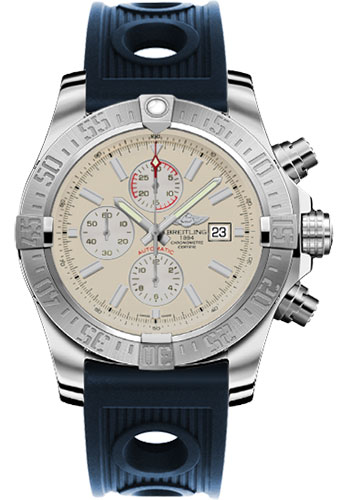 Breitling Watches - Super Avenger II Ocean Racer Strap - Style No: A1337111/G779-ocean-racer-blue-deployant