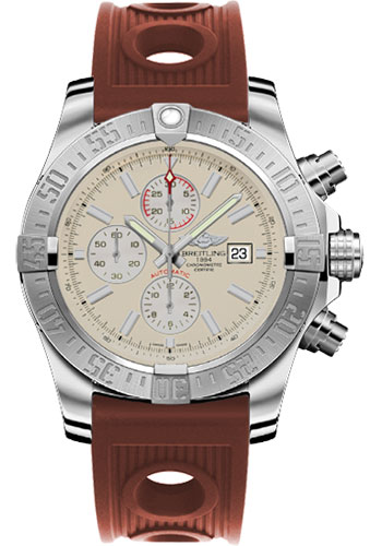 Breitling Watches - Super Avenger II Ocean Racer Strap - Style No: A1337111/G779-ocean-racer-bronze-deployant