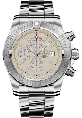 Breitling Watches - Super Avenger II Stainless Steel Bracelet - Style No: A1337111/G779-professional-iii-steel