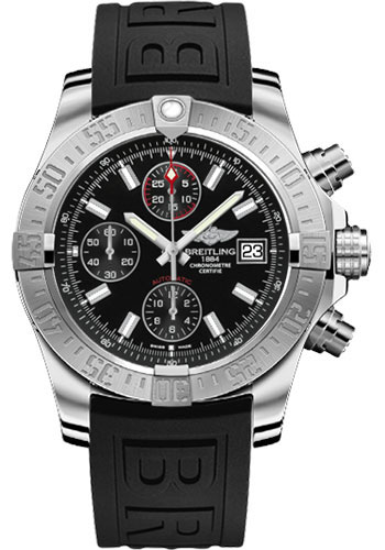 Breitling Watches - Avenger II Diver Pro III Strap - Deployant Buckle - Style No: A1338111/BC32-diver-pro-iii-black-deployant