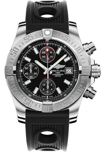 Breitling Watches - Avenger II Ocean Racer Strap - Style No: A1338111/BC32-ocean-racer-black-deployant