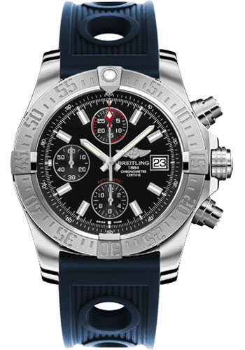 Breitling Watches - Avenger II Ocean Racer Strap - Style No: A1338111/BC32-ocean-racer-blue-deployant