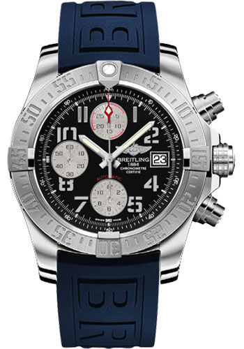 Breitling Watches - Avenger II Diver Pro III Strap - Tang Buckle - Style No: A1338111/BC33-diver-pro-iii-blue-tang