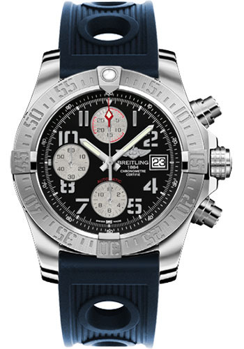 Breitling Watches - Avenger II Ocean Racer Strap - Style No: A1338111/BC33-ocean-racer-blue-deployant