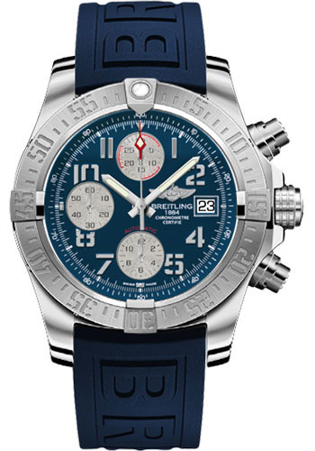 Breitling Watches - Avenger II Diver Pro III Strap - Tang Buckle - Style No: A1338111/C870-diver-pro-iii-blue-tang
