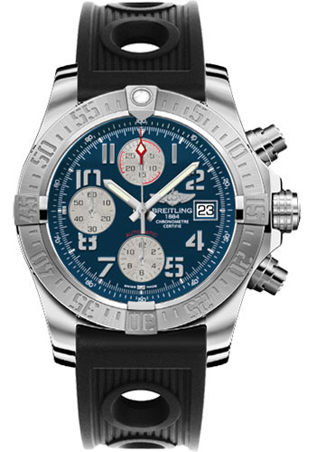 Breitling Watches - Avenger II Ocean Racer Strap - Style No: A1338111/C870-ocean-racer-black-deployant