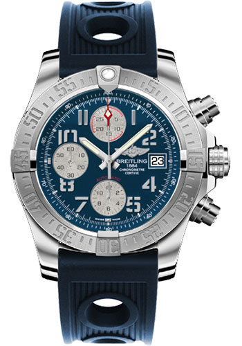 Breitling Watches - Avenger II Ocean Racer Strap - Style No: A1338111/C870-ocean-racer-blue-deployant