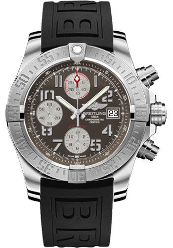 Breitling Watches - Avenger II Diver Pro III Strap - Deployant Buckle - Style No: A1338111/F564-diver-pro-iii-black-deployant