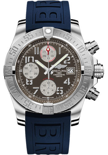 Breitling Watches - Avenger II Diver Pro III Strap - Deployant Buckle - Style No: A1338111/F564-diver-pro-iii-blue-deployant