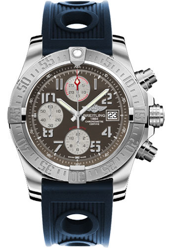 Breitling Watches - Avenger II Ocean Racer Strap - Style No: A1338111/F564-ocean-racer-blue-deployant