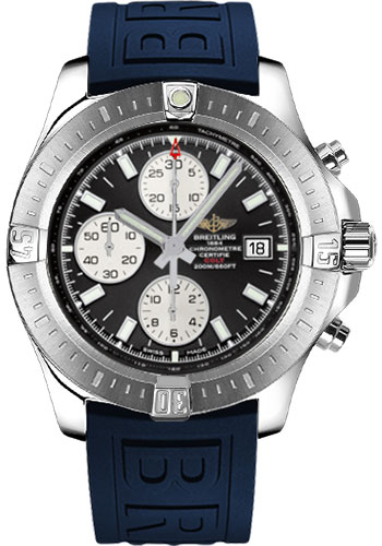 Breitling Watches - Colt Chronograph Automatic Diver Pro III Strap - Tang - Style No: A1338811/BD83-diver-pro-iii-blue-tang
