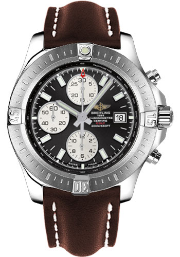 Breitling Watches - Colt Chronograph Automatic Leather Strap - Deployant - Style No: A1338811/BD83/438X/A20D.1