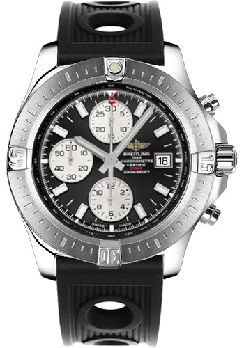 Breitling Watches - Colt Chronograph Automatic Ocean Racer Strap - Deployant - Style No: A1338811/BD83-ocean-racer-black-deployant